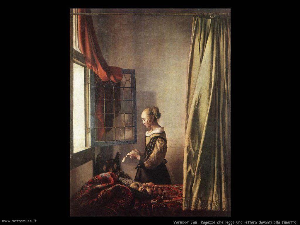 Jan vermeer pittore biografia opere quadri for Ragazza alla finestra quadro