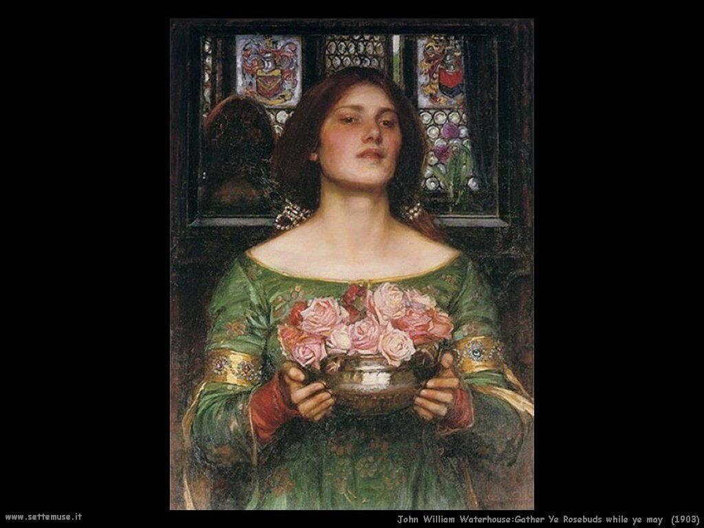 Gather Ye Rosebuds while ye may 1908