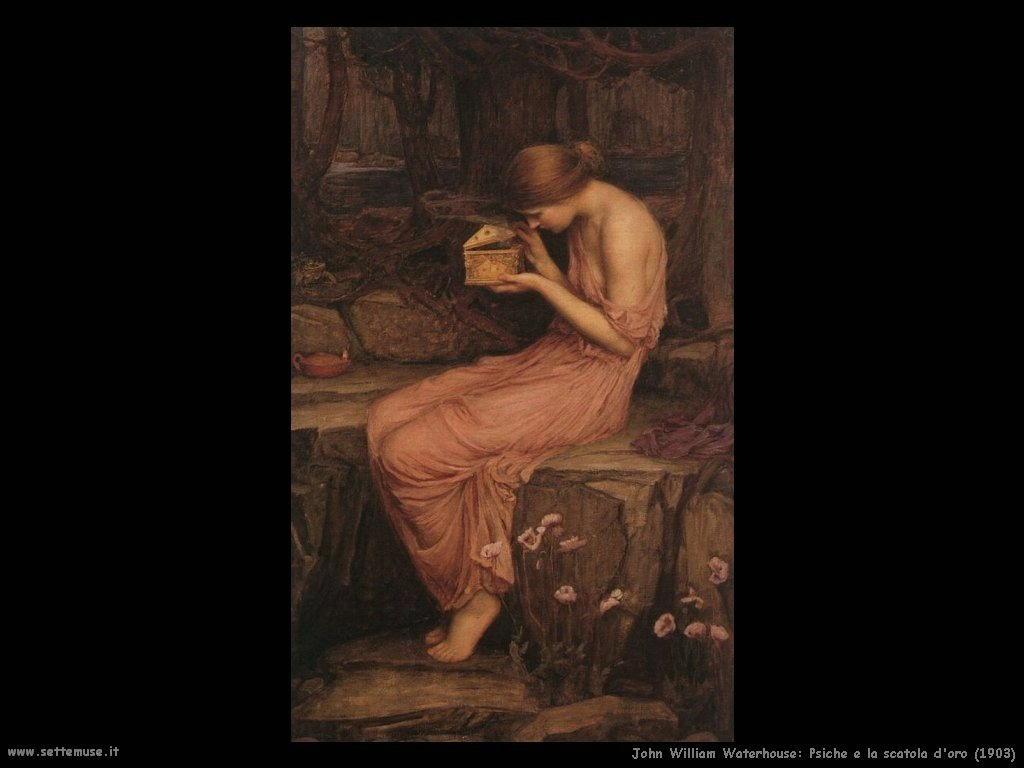 Psiche apre la scatola d'oro (1903)