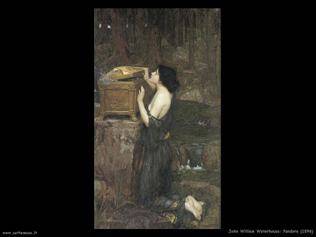 john_william_waterhouse pandora 1896