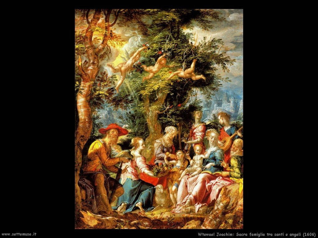 wtewael/wtewael_joachim_704_sacra_famiglia_tra_santi_e_angeli_1606