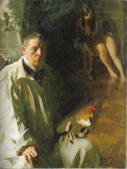 Dipinto di di Anders Zorn