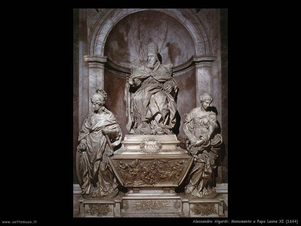 Monumento a Papa Leone XI (1644)
