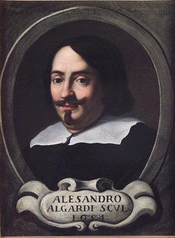 Dipinto di Alessandro Algardi