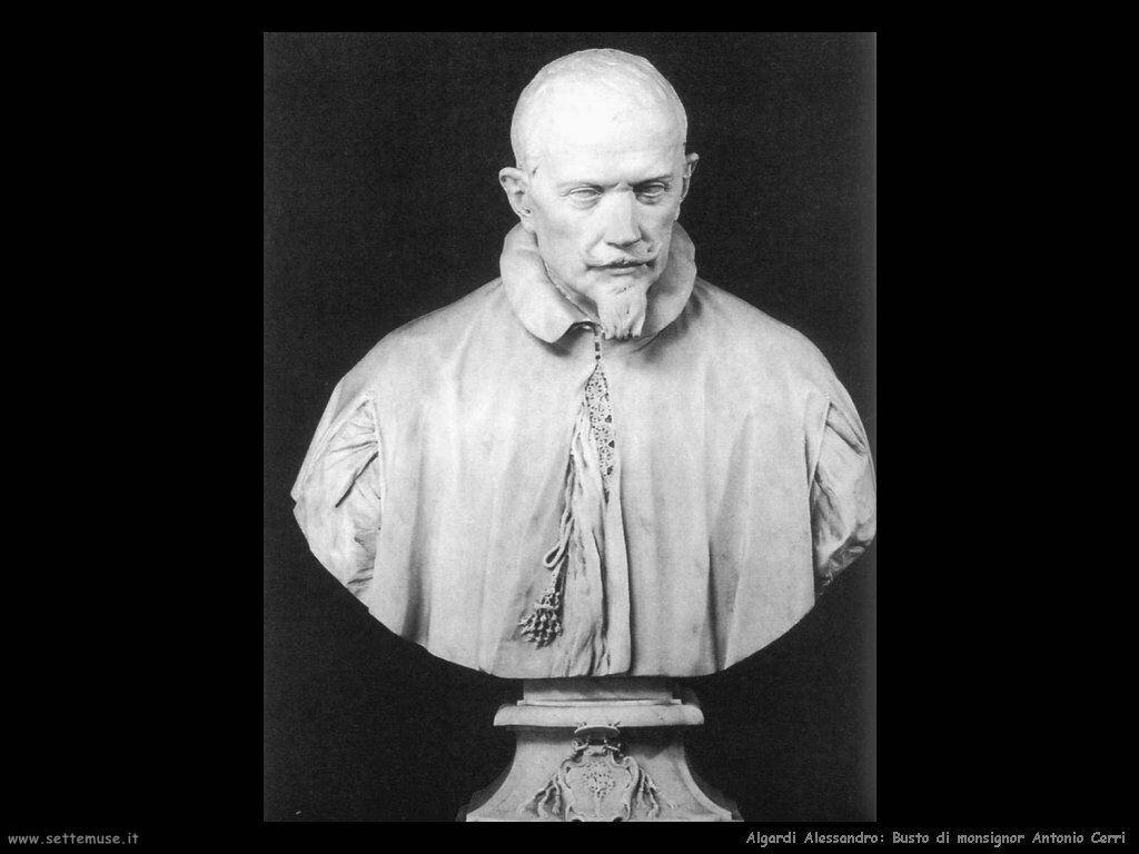 Busto del monsignor Antonio Cerri