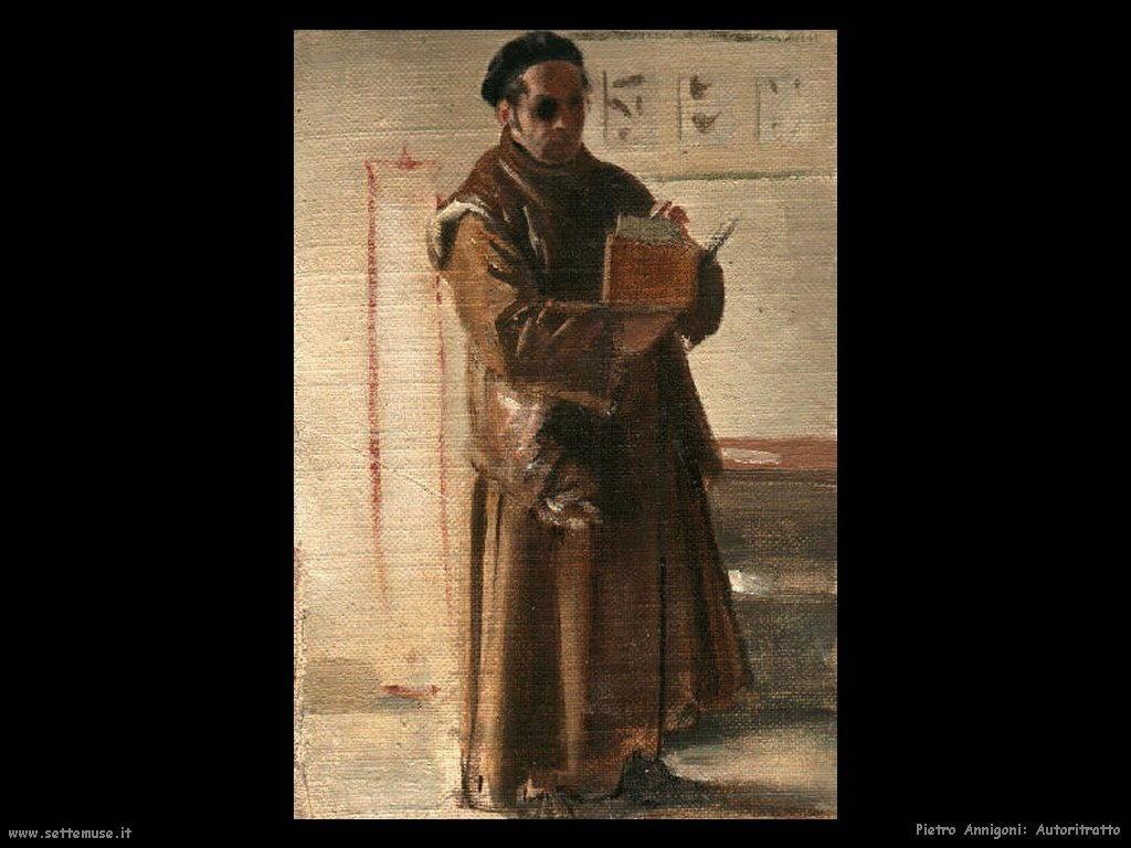 pietro annigoni Autoritratto Pietro Annigoni