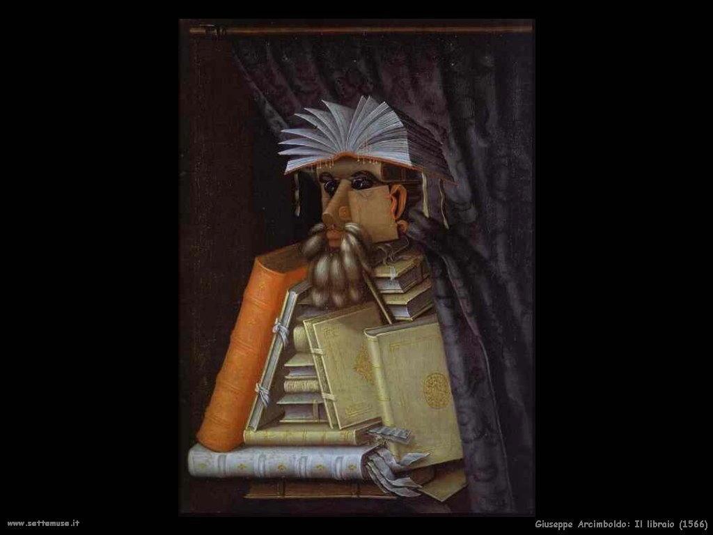 Giuseppe Arcimboldo Il libraio (1566)