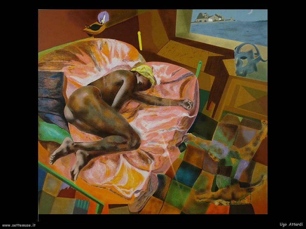 Ugo Attardi Regina d'Africa (1993)