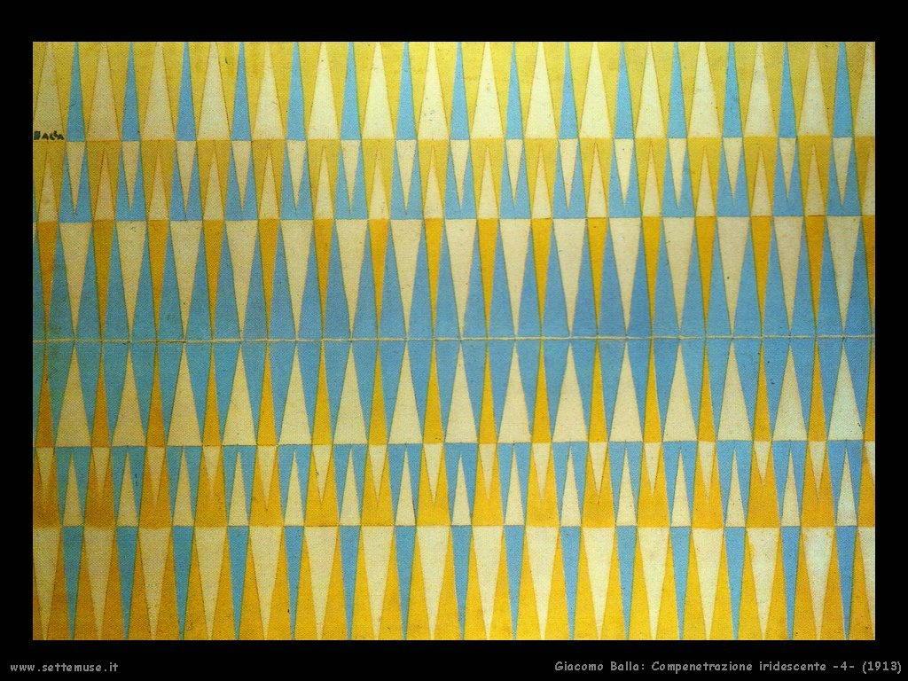 Compenetrazione iridescente 4 (1913)