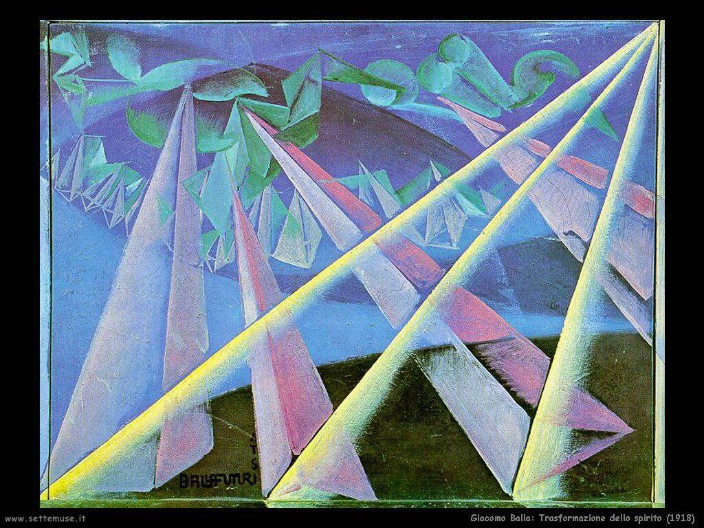 Trasformazione dello spirito (1918)