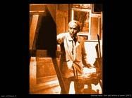 giacomo balla Foto dell'artista al lavoro (1947)