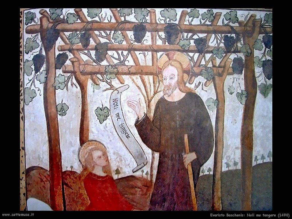 evaristo baschenis Noli me tangere (1490)