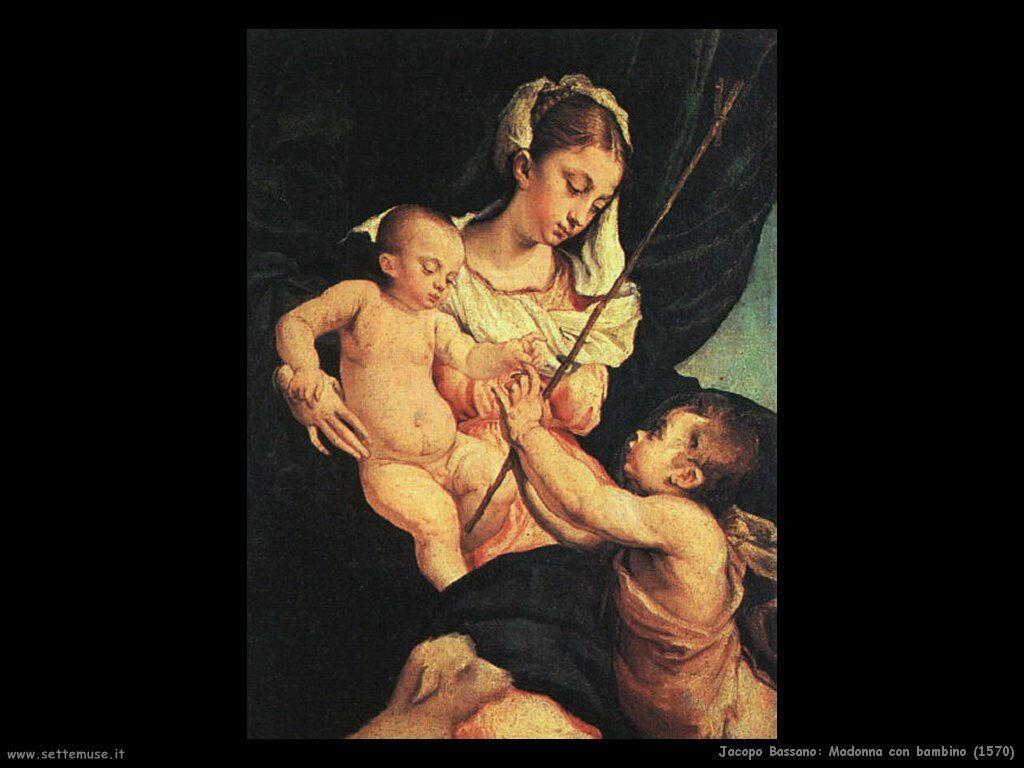 Madonna con Bambino (1570)