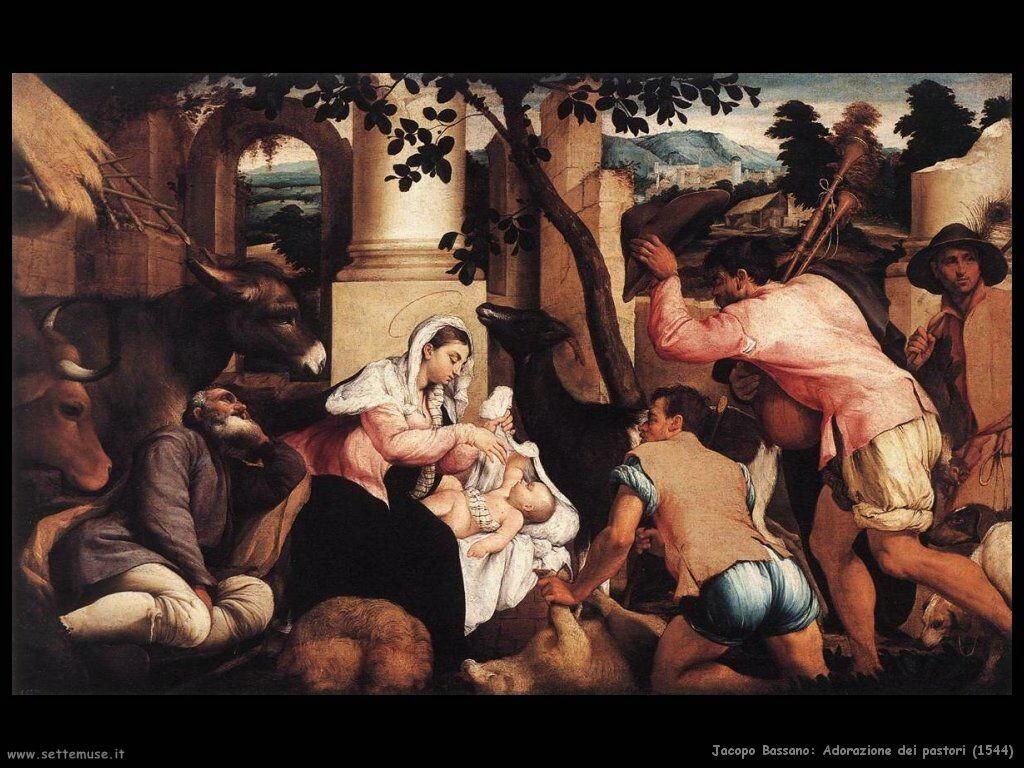 Adorazione dei pastori (1544)