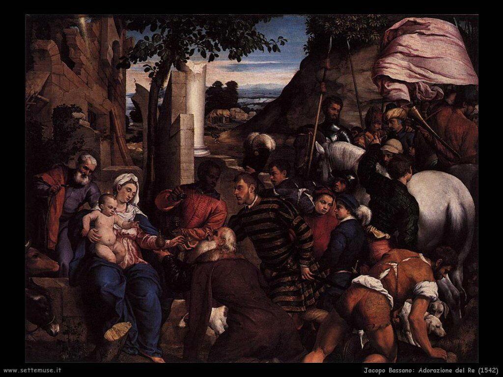 Adorazione del  Re (1542)
