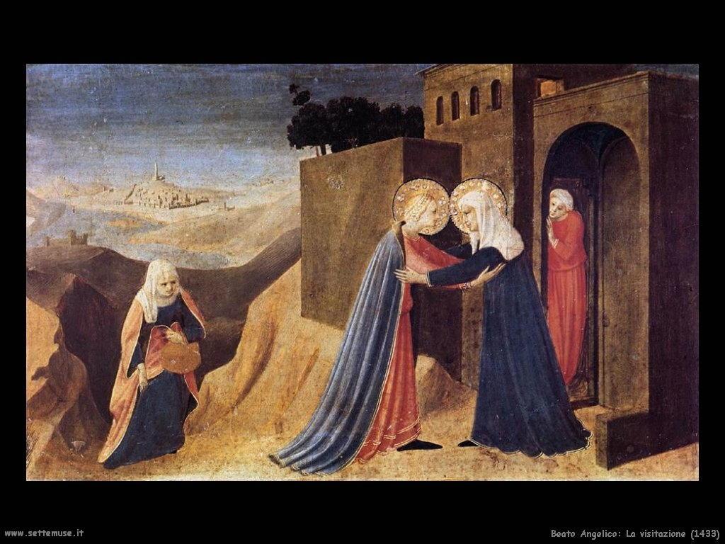 Beato Angelico Annunciazione (1432) altra foto