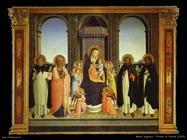 Beato Angelico Trittico di Fiesole (1424)
