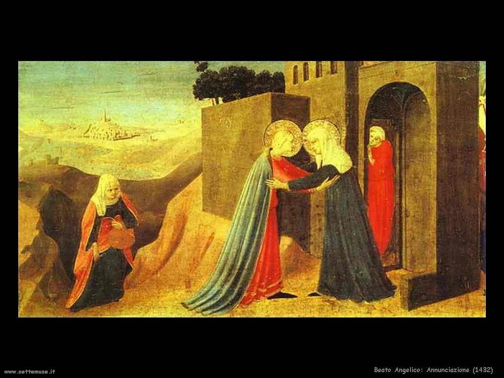 Beato Angelico Annunciazione (1432)