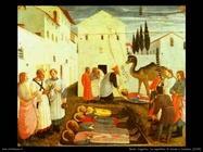 Beato Angelico La sepoltura di Cosma e Damiano (1439)