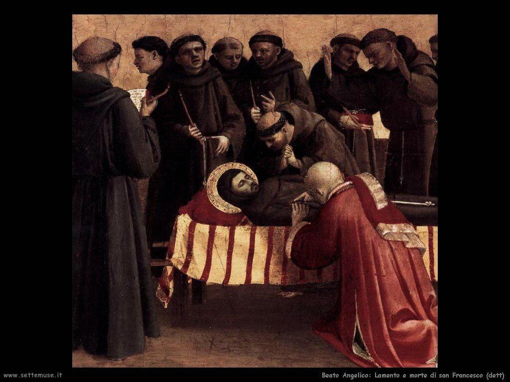 Lamento sulla morte di san Francesco (dett)