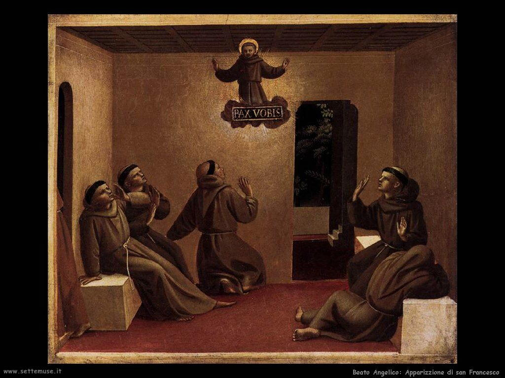 Apparizione a san Francesco