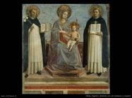 Beato Angelico Madonna con san Domenico e san Tomaso d'Acquino