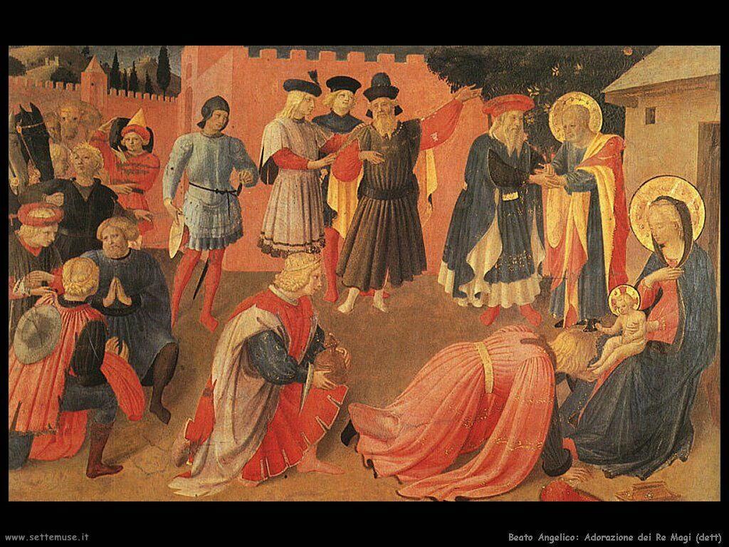 beato angelico Adorazione dei Re Magi (1433) altra foto