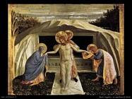 Beato Angelico Sepoltura di Cristo