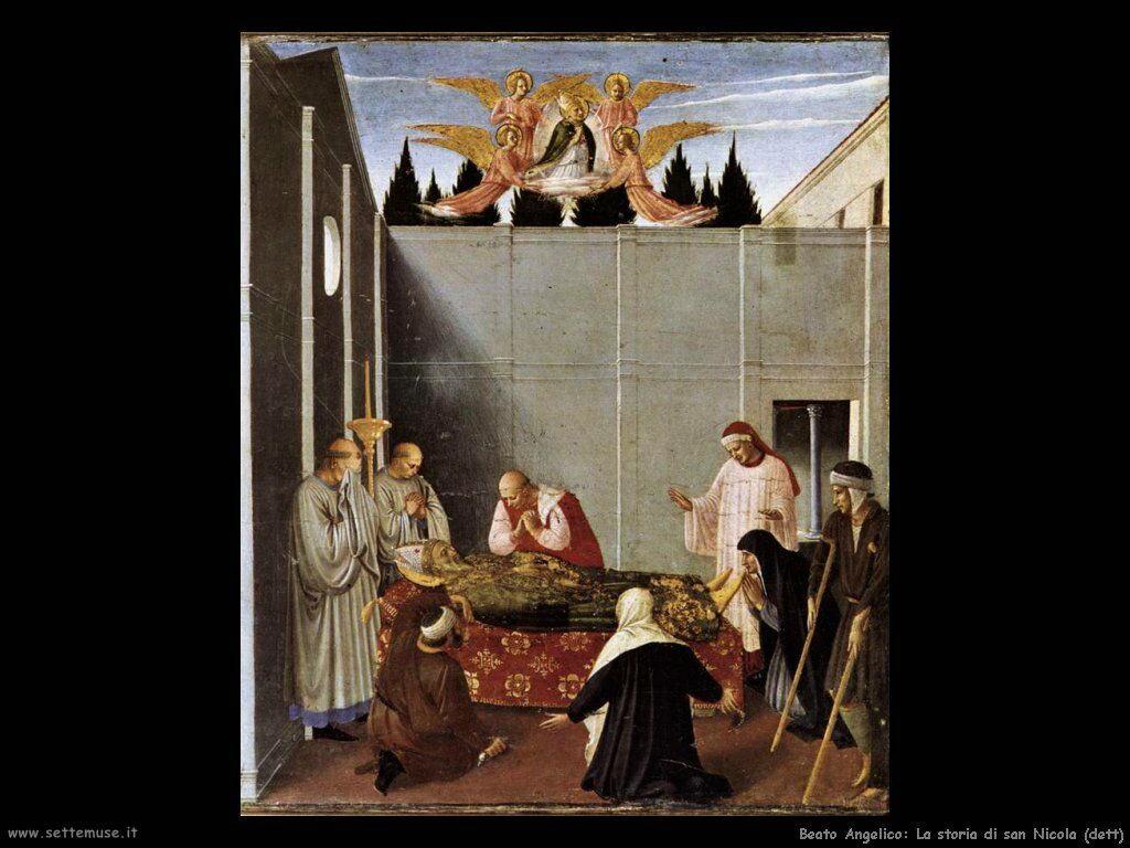 beato angelico Storia di san Nicola