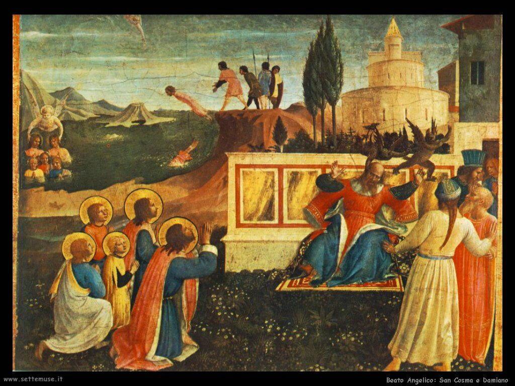 Beato Angelico San Cosma Damiano