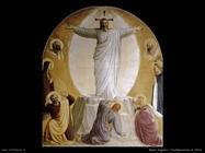 Beato Angelico Trasfigurazione di Cristo