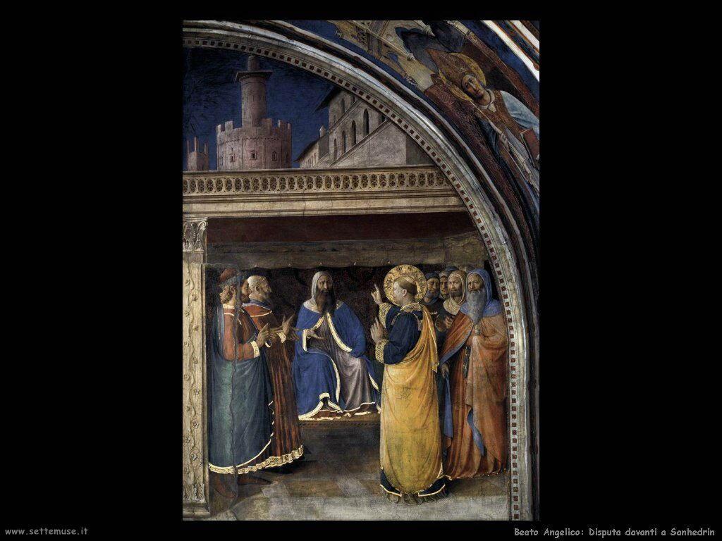 Disputa davanti a Sanhedrin