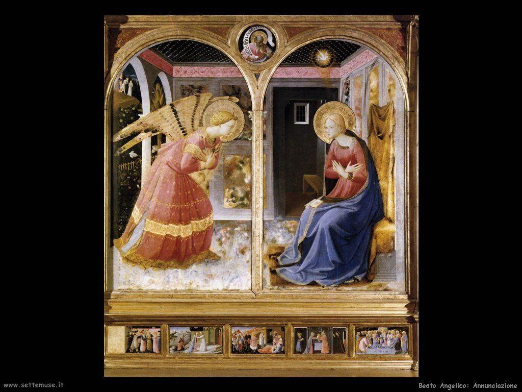 Beato angelico Annunciazione