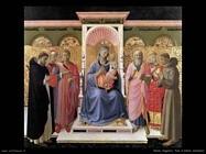 Beato Angelico Pala d'altare Annalena