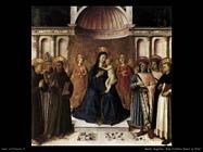 Beato Angelico Pala d'altare Bosco ai frati