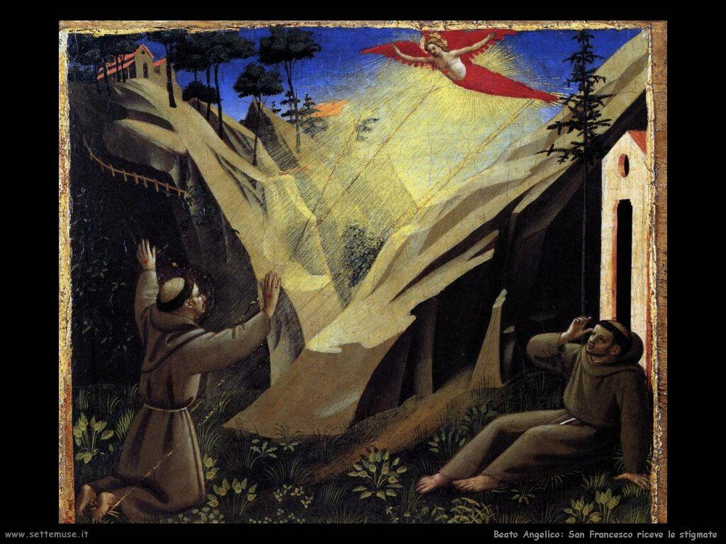 Beato Angelico San Francesco riceve le stigmate