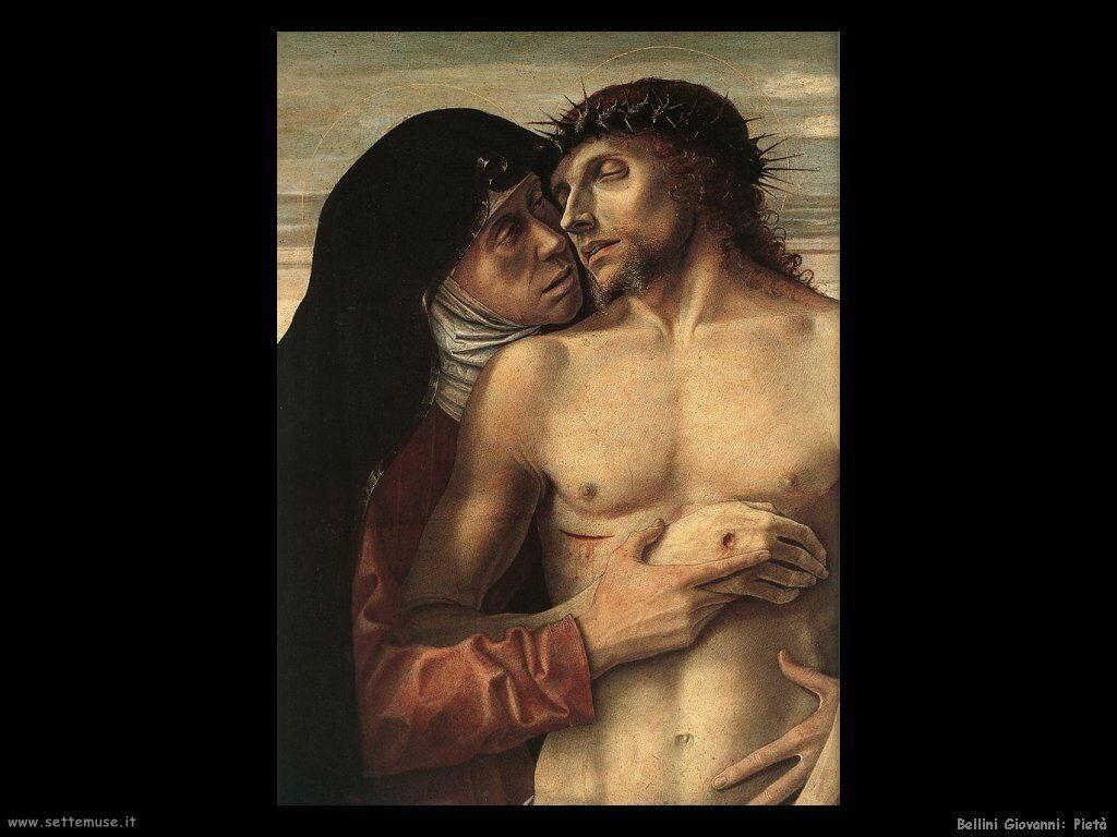 bellini giovanni Cristo morto... (1460)