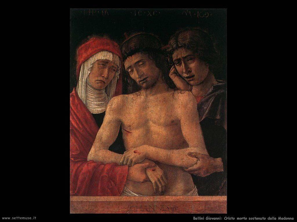 Cristo morto sorretto dalla Madonna