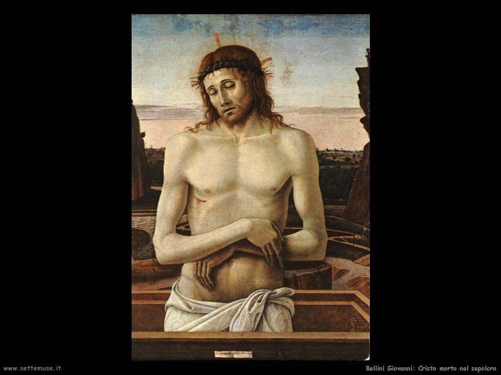 Cristo morto nella sepoltura (Pietà)