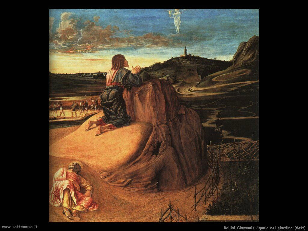 Famous Paintings Of The Agony In The Garden
