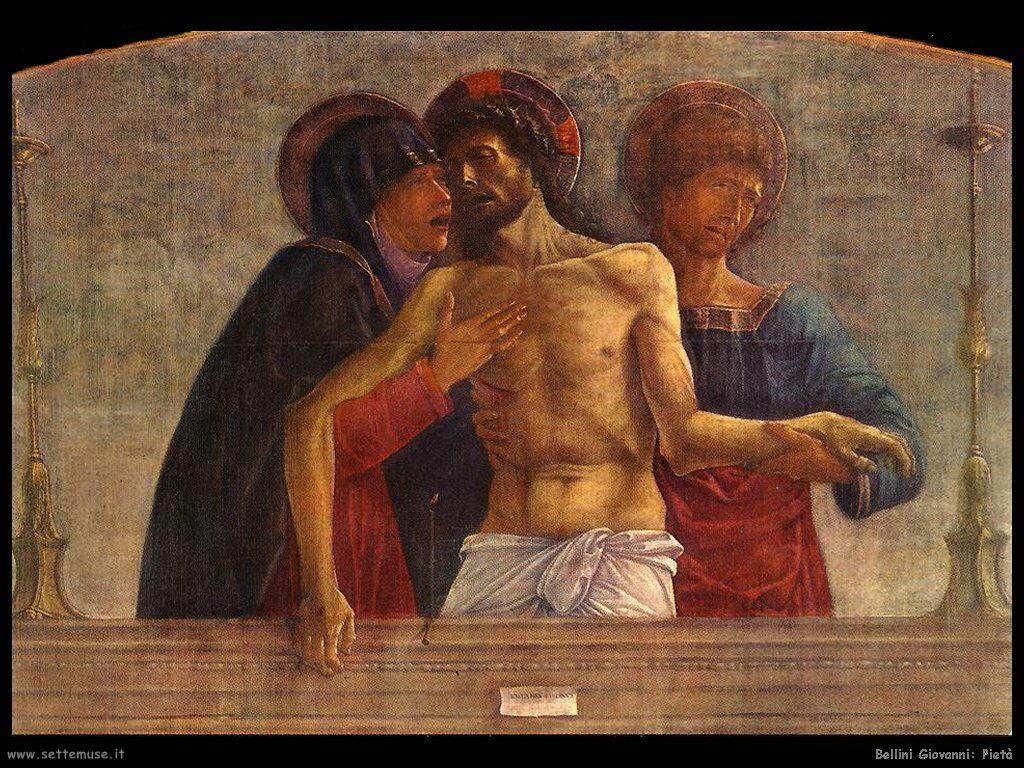 bellini giovanni Pietà