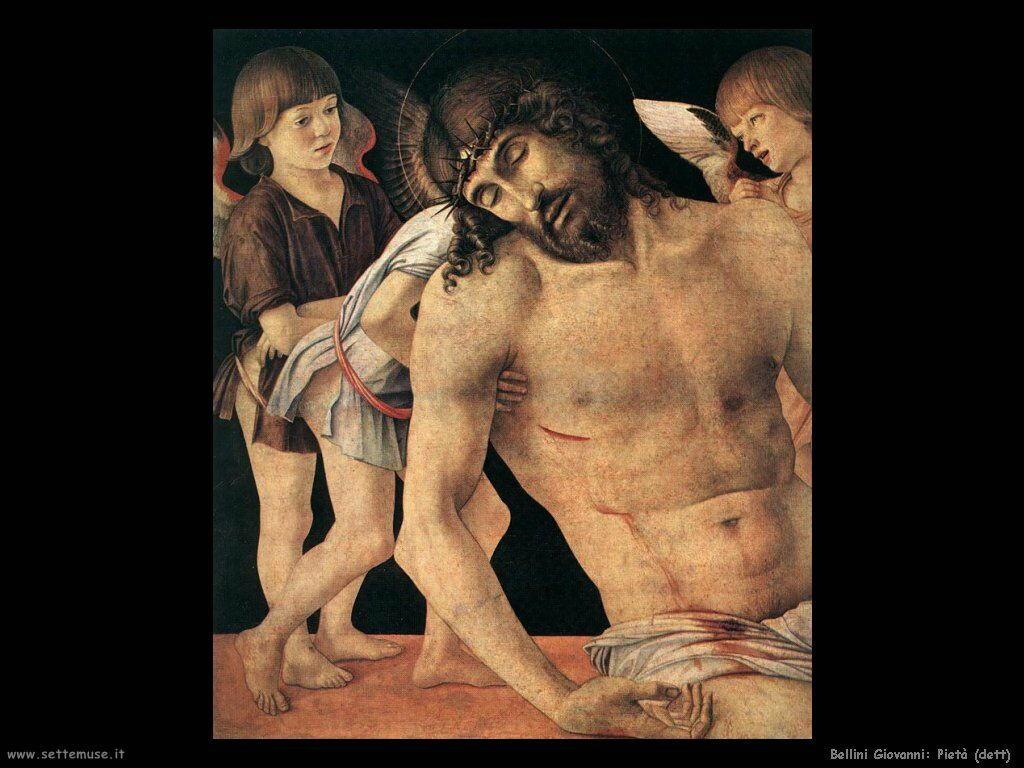 Cristo morto sorretto da angeli (dett)