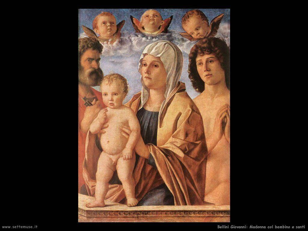 Madonna con bambino e san Pietro