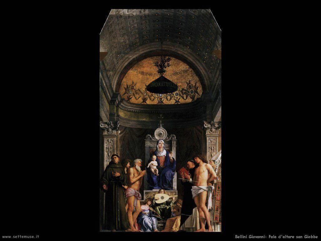 bellini giovanni San Giobbe pala d'altare