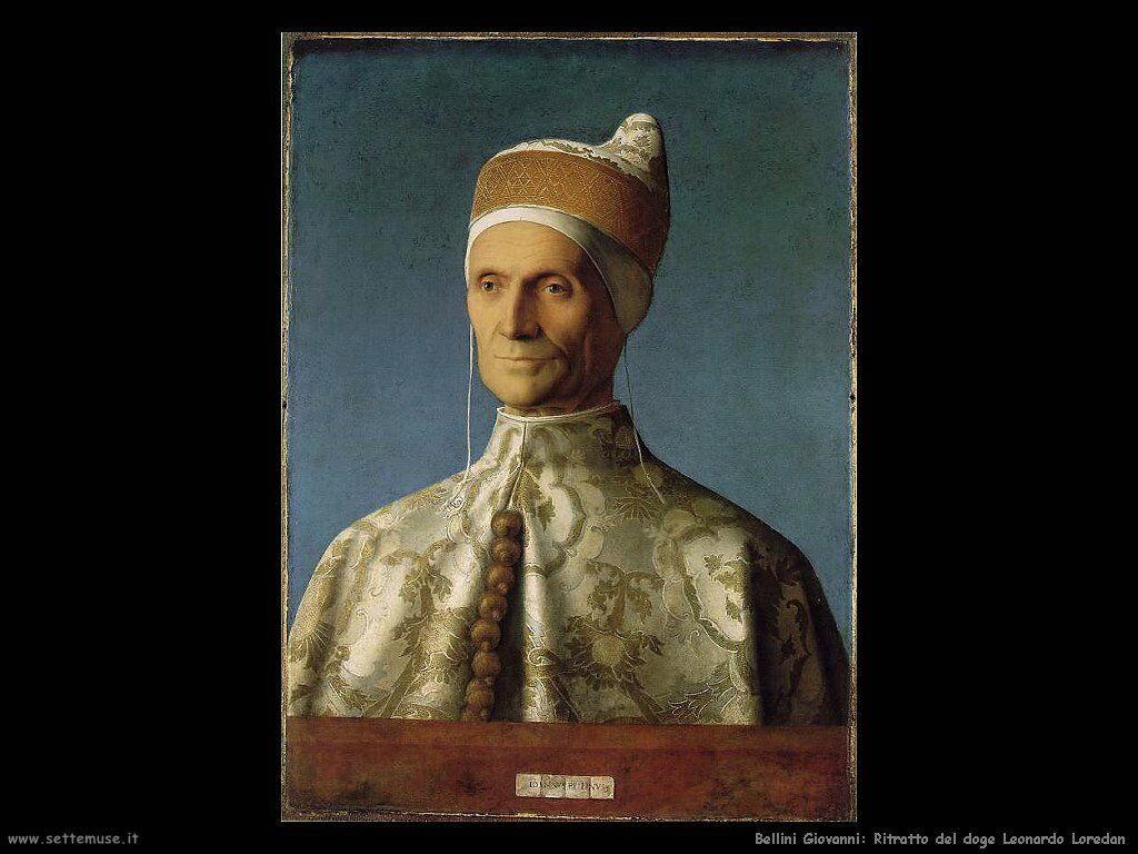 bellini giovanni Ritratto del doge Leonardo Loredan