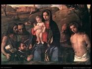 Madonna con bambino e quattro santi