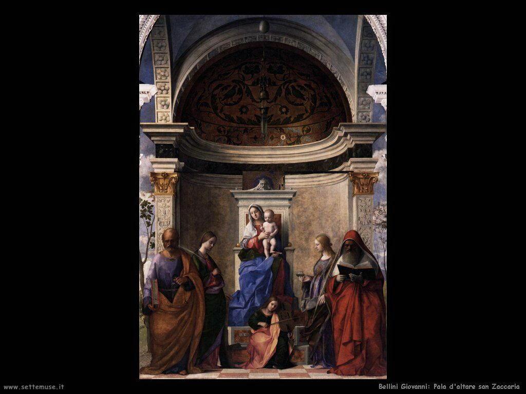San Zaccaria pala d'altare