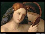 bellini giovanni Giovane donna alla toilette (1515) (dett)