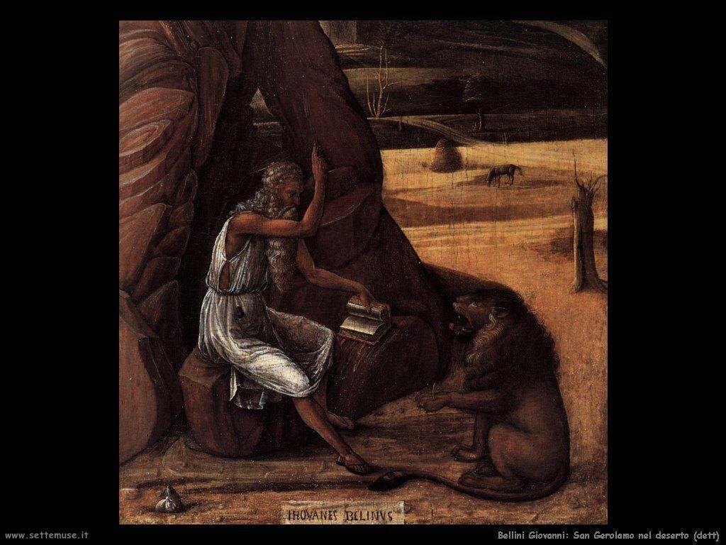 bellini giovanni San Girolamo nel deserto (dett)