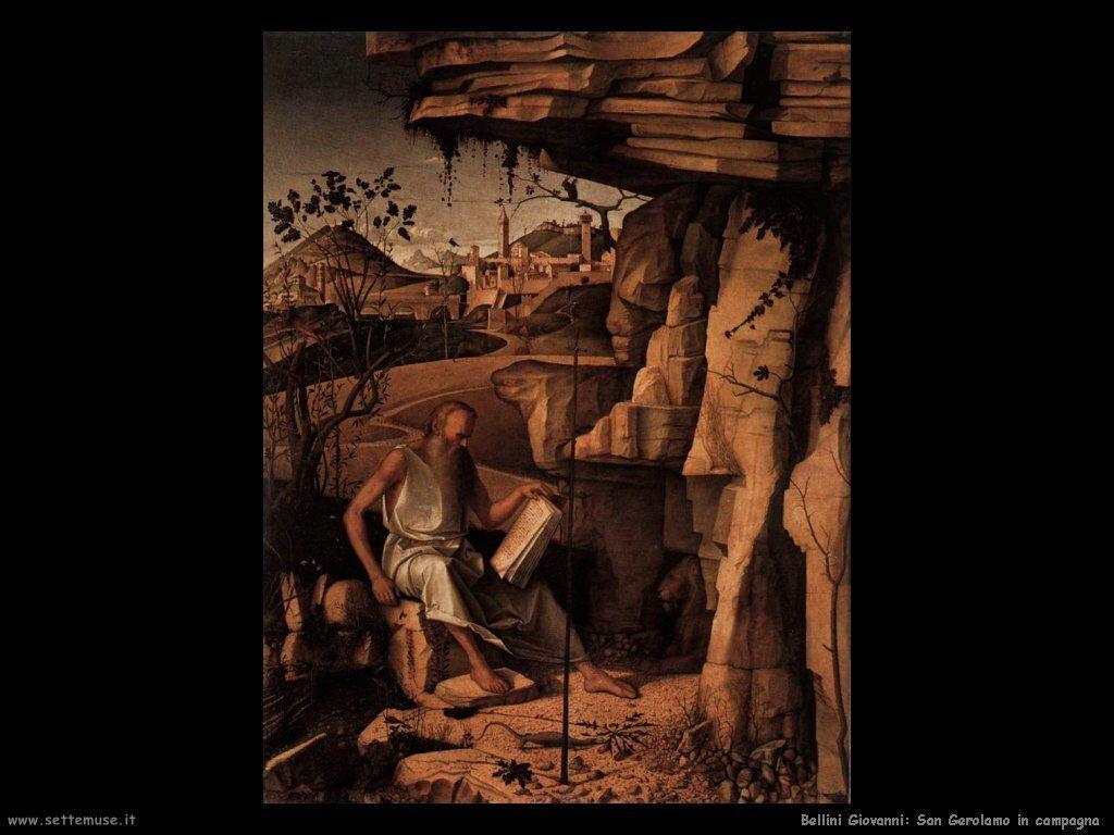 San Girolamo nel deserto in lettura